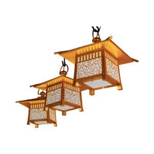稲荷堂 吊り灯籠