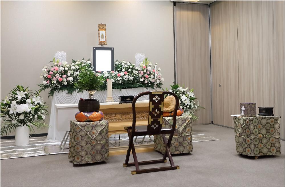 万松寺のお葬式 会場