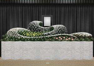 万松寺のお葬式 花祭壇