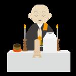 万松寺のお葬式 七日経